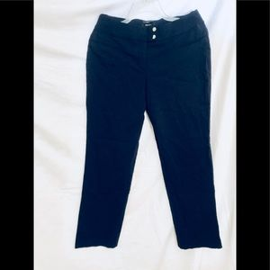 Style & Co. Woman's Navy Blue Pants